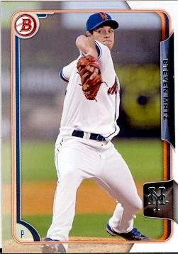 Steven Matz baseball card (New York Mets) 2015 Topps Bowman #BP124 Rookie Card