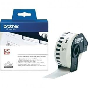 P-Touch QL 710, QL 710W Brother Etiketten 12 mm x 30, 48 meter, Papier, 1 Endlosetikett, DK Label für Ptouch QL710, QL-710 W