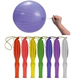 15 x Punch Balloons Assorted Colours