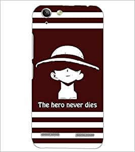 PrintDhaba Quote D-5853 Back Case Cover for LENOVO VIBE K5 (Multi-Coloured)