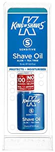 King Of Shaves K-Series AlphaOil Shaving Oil for Sensitive Skin - 15 ml