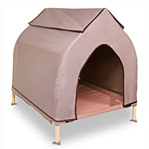 Hugs Pet Products Cool Cot Dog House, Large