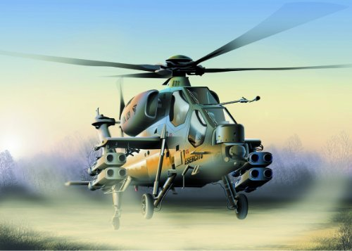Italian Army A-129 Mangusta Helicopter