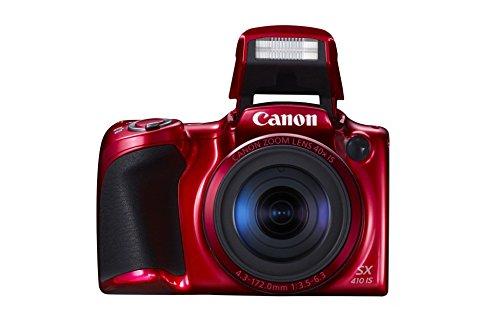 Canon PowerShot SX410 IS Fotocamera Compatta Digitale, 20.0 Megapixel, Rosso