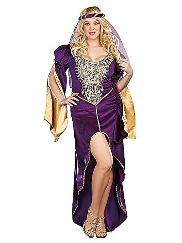 QUEEN OF THRONES ADULT PLUS COSTUME 3X/4