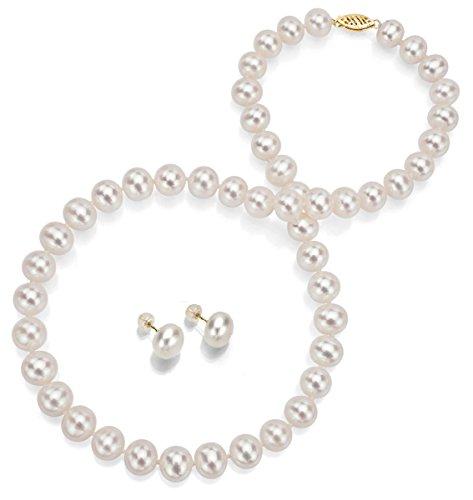 14-k-oro-blanco-con-perla-cultivada-de-agua-dulce-collar-de-4572-cm-y-juego-de-pendientes-del-perno-