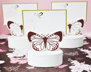 Butterfly Place Card Favor Boxes with Designer Place Cards (Set of 576) - Baby Shower Gifts & Wedding Favors