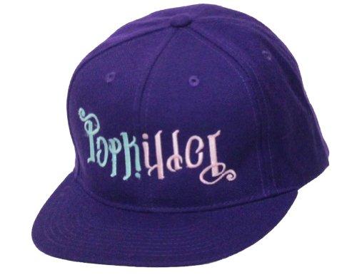 Popkiller Original Ambigram Logo Cap, Purple