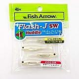 フィッシュアロー Flash-J Huddle SW(フラッシュ-ジェイ ハドル ソルトウォーター) #109 グロー×シルバー 1インチ