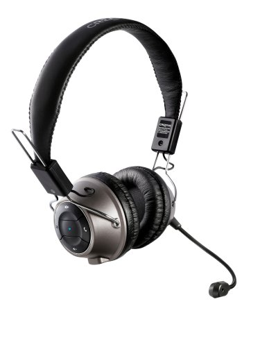 Creative Labs HS-1200 Digital Wireless Gaming Headset with Sound Blaster X-Fi Technology (Black)
