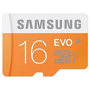 日本サムスン正規品 SAMSUNG EVO microSDHCカード SD変換アダプタ付 UHS-I Class10 16GB MB-MP16DA/JPEC 最大転送速度48MB/s 10年保証
