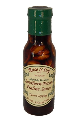 Rose & Ivy Southern Pecan Praline Sauce (New Orleans Bbq Sauce compare prices)