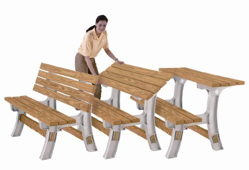 Furniture Outdoor Furniture Picnic Table 2x4 Basics 15 Items