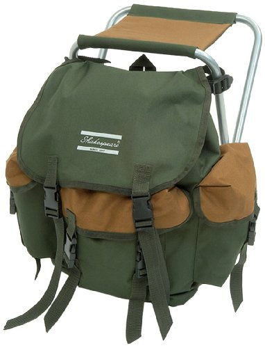 shakespeare-folding-stool-with-back-pack-brown-green-100-kg