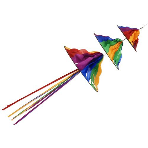 Triple Jelly - Windräder: Ø36cm / Ø28cm / Ø20cm Länge: 90cm
