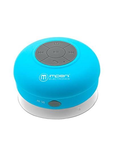 Altavoz Bluetooth Waterproof Azul