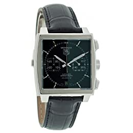 TAG Heuer Men s CAW2110 FC6177 Monaco Calibre 12 Automatic Chronograph Watch