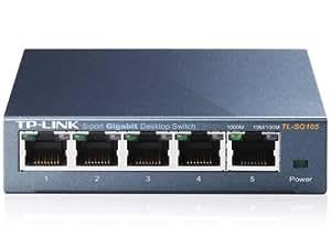 TP-LINK TL-SG105 Switch 5 Ports Gigabit (Bureau, Boîtier Métal)