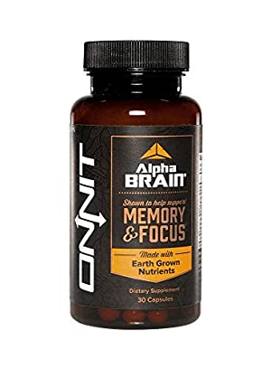 Alpha BRAIN  Shown to Help Support Memory and Focus by Onnit Labs