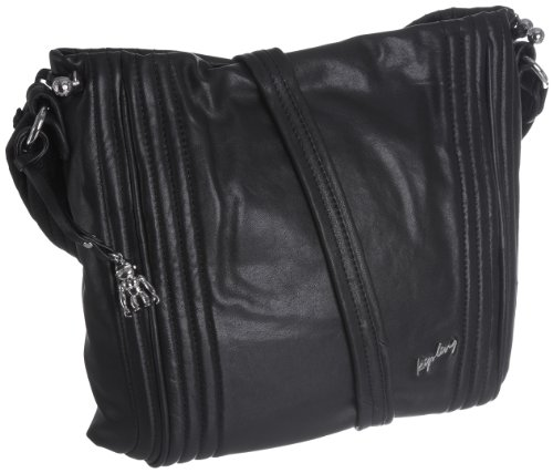 Kipling Women's Blenny Across Body Shoulder Bag Twisted Black K24210970 Small