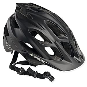 Fox Racing Flux Bike Helmet S-M Matte Black