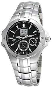 Seiko Men's SNP007 Coutura Kinetic Perpetual Watch
