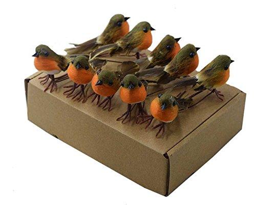 10pcs-robin-pajaro-arbol-de-navidad-decoracion-manualidades-muy-bonito-artificial-de-plumas