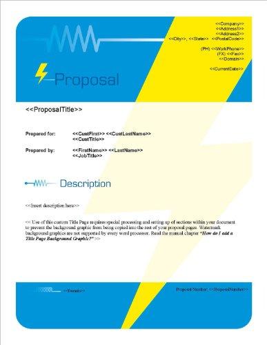 Proposal Pack Electrical #2 V15.0 - 2014