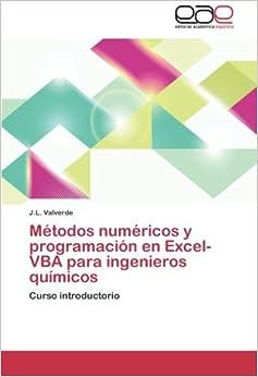 Amazon.com: Métodos numéricos y programación en Excel-VBA