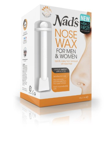Nads 45g Hair Removal Nose Wax For Men And Women 4668 By Nad's