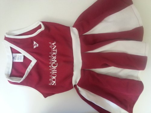 South Carolina Gamecocks youth Small Ages 2 to 4 Cheerleader outfit at Amazon.com