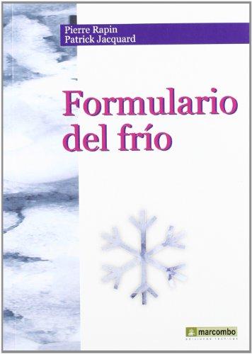FORMULARIO DEL FRIO