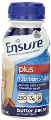 Ensure Plus Nutrition Shake, Butter P…