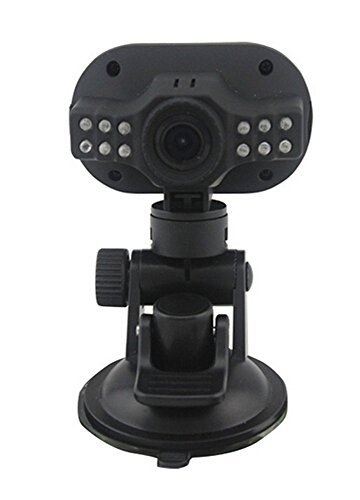 MOGOI(TM) HD1080P Video Audio 3.0MP Kamera Recorder CARcorder Fahrzeug Blackbox Auto DVR, (Schwarz, Set von 5) mit MOGOI Accessorie