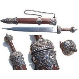"""Amazon.com : 31"""" Gladius Roman Sword Gladiator Julius"""