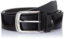 Dandy AW 14 Black Leather Men's Belt (MBLB-297-S)