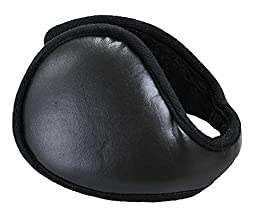 Ieasysexy Faux Leather Fleece Cycling Skiing Staking C Earcaps for Men