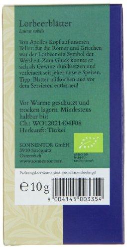 Sonnentor Lorbeerblätter, 1er Pack (1 x 10 g) - Bio