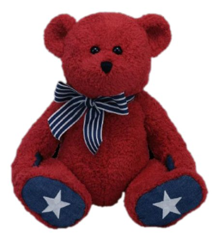 Ty Classic Patriotic Bear in Red
