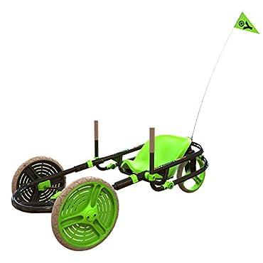 Y-Bike Explorer 2.0 Kids 3-Wheel Ride-On Go-Kart Bicycle (Green)