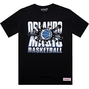 Mitchell And Ness Orlando Magic Blank Tee by Mitchell & Ness