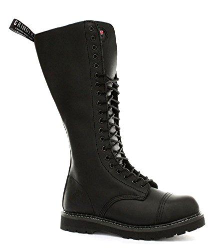 Grinders King 2015 Black Mens Safety Steel Toe Derby Boots, Size 8 (Men Grinder compare prices)