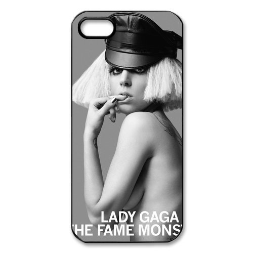 Lady Gaga hard case cover skin for iphone 5, Lady Gaga Pop Dance Music iPhone 5 case