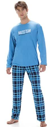 Cornette Hommes Ensemble de Pyjama CR-124-Nautic (Turquoise, XL)