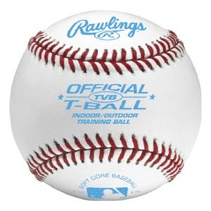 Rawlings T-Ball Indoor/Outdoor Soft Baseball