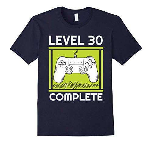 level-30-complete-funny-video-games-30th-birthday-tshirt-gift-for-gamers-30-birthday-t-shirt-herren-
