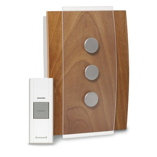 Honeywell RCWL3503A1000/N Decor Wireless Doorbell / Door Chime and Push Button (Doorbell Wireless Honeywell compare prices)