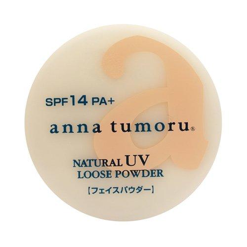 アンナトゥモール ナチュラルUVルースパウダー クリアベージュ SPF14 PA++ 13g