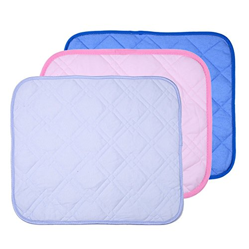"MMdex Pet Cool Summer Cushion Pad Cooling Kennel Bed Pad Travel Mat for Dog / Puppy /Cat / Kitten and Other Small Pets (S-19.7""x15.7"")"