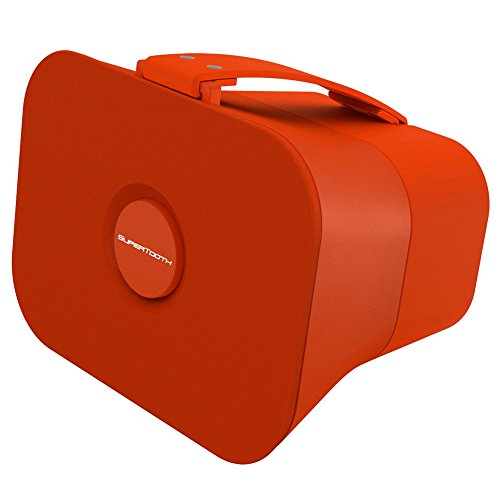 Supertooth D4 Bluetooth Stereo Speaker - Retail Packaging - Juicy Orange